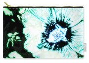 Rosa Sinensis Abstract Carry-all Pouch