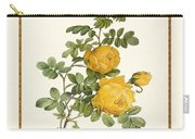 Rosa Sulfurea -yellow Rose  Square Carry-all Pouch