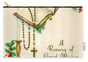 Rosary Good Wishes Carry-all Pouch