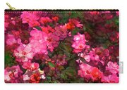 Rose 202 Carry-all Pouch by Pamela Cooper