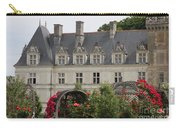 Rose And Cabbage Garden Chateau Villandry Carry-all Pouch