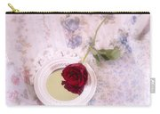 Rose And Mirror Carry-all Pouch