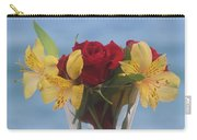 Rose And Peruvian Lilies Carry-all Pouch