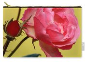 Rose And Rose Buds Carry-all Pouch