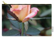 Pink Rose Bloom  Carry-all Pouch