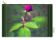 Rose Bud Carry-all Pouch by Brian Wallace