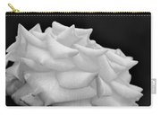 Rose Bw Carry-all Pouch