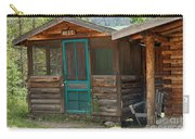 Rose Cabin At The Holzwarth Historic Site Carry-all Pouch