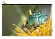 Rose Chafer Carry-all Pouch