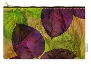 Rose Clippings Mural Wall Carry-all Pouch