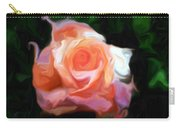 Rose Colored Carry-all Pouch
