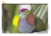 Rose-crowned Fruit Dove Carry-all Pouch