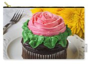 Rose Cupcake Carry-all Pouch