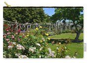 Rose Garden And Trellis Carry-all Pouch
