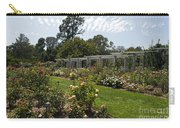 Rose Garden At The Huntington Library Carry-all Pouch