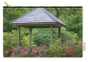 Rose Garden Gazebo Carry-all Pouch