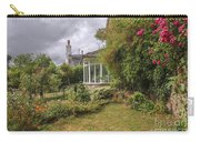 Rose Garden Near Cottage In England Carry-all Pouch
