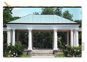 Rose Garden Pergola In Delaware Park Buffalo Ny Oil Painting Effect Carry-all Pouch