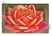 Rose Greeting Card With Verse Carry-all Pouch