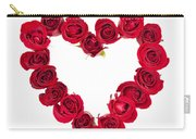 Rose Heart Carry-all Pouch