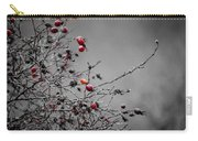 Rose Hip Red Carry-all Pouch