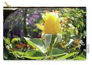 Rose In A Bubble Digital Art Carry-all Pouch