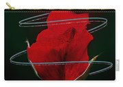 Rose In A Dark Carry-all Pouch