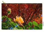 Rose In Autumn Carry-all Pouch