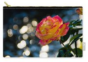 Rose In Dappled Afternoon Light Carry-all Pouch