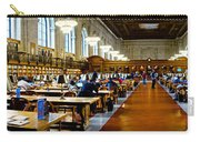 Rose Main Reading Room New York Public Library Carry-all Pouch