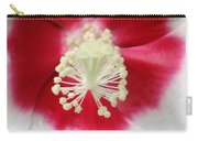 Rose Mallow - Honeymoon White With Eye 03 Carry-all Pouch