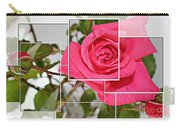 Rose Montage Carry-all Pouch