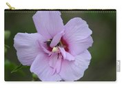 Rose Of Sharon With Bee Carry-all Pouch