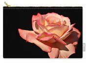 Rose On Black Background Carry-all Pouch