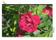 Rose On The Vine Carry-all Pouch