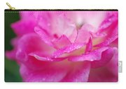 Rose Pink Carry-all Pouch