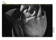 Rose Portrait Bw Carry-all Pouch