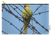 Rose-ringed Parakeet Carry-all Pouch
