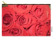 Rose Swirls Carry-all Pouch
