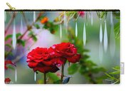 Rose Water Drops Carry-all Pouch