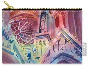 Rose Window Carry-all Pouch by Kris Parins