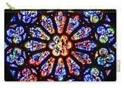 Rose Window Of Grace Cathedral By Diana Sainz Carry-all Pouch