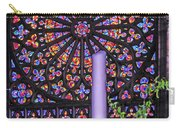 Rose Window Of St Vincent Carry-all Pouch