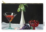 Rose Wine And Fruit Carry-all Pouch