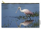 Roseate Spoonbill Hunting Carry-all Pouch