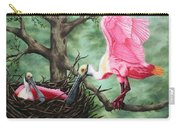 Roseate Spoonbill Nesters  Carry-all Pouch
