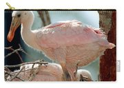 Roseate Spoonbill Nestlings Carry-all Pouch