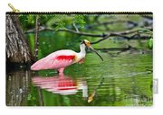 Roseate Spoonbill Wading Carry-all Pouch
