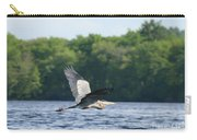 Roseland Lake Great Blue Heron Fly By  Carry-all Pouch