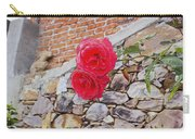 Roses Against The Wall Carry-all Pouch